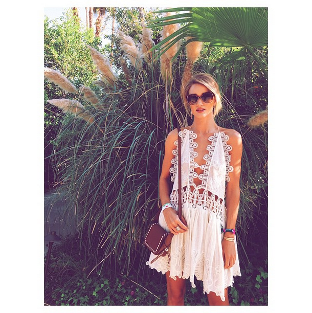 Rosie Huntington Whiteley  Coachella