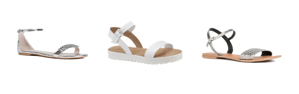 Minimalistic sandals