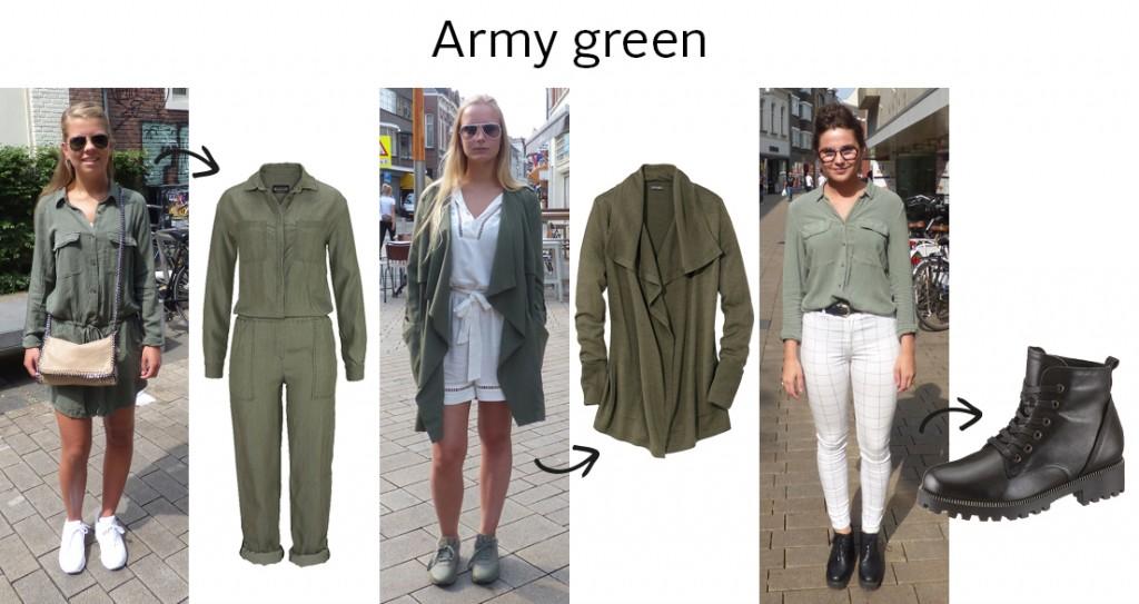 Streetstyle Tilburg army green