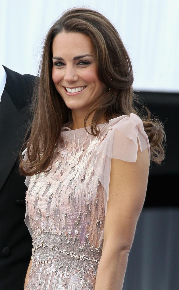 Kate Middleton haar