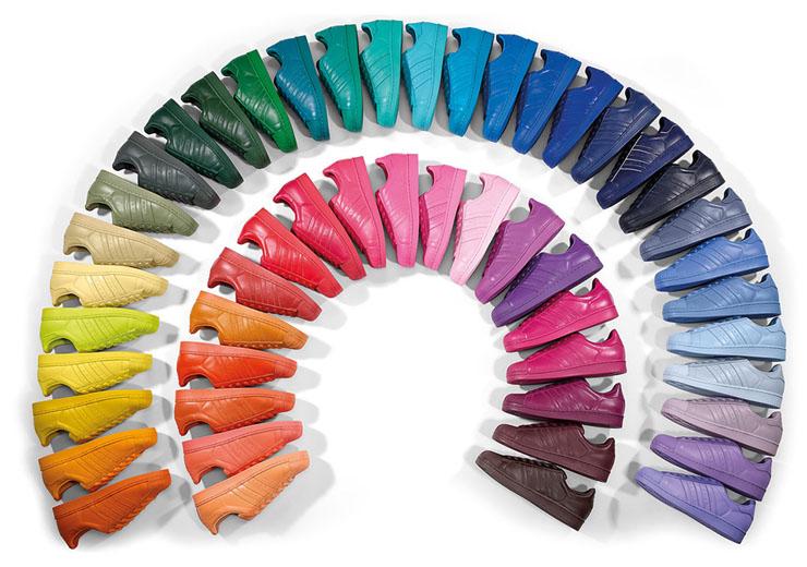 Adidas x Pharrell Williams supercolor