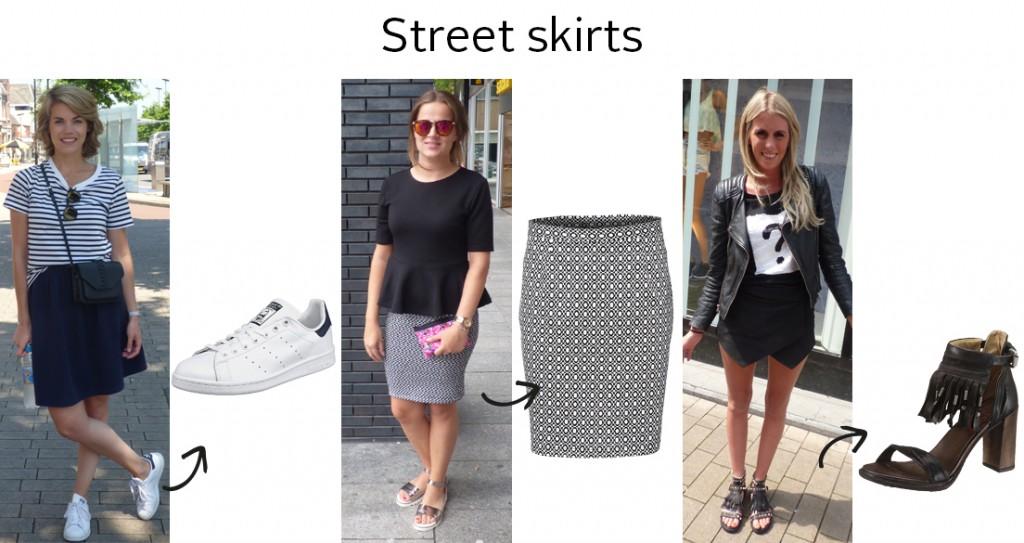 Streetstyle Tilburg skirts