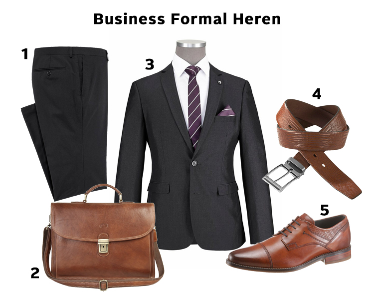 business formal heren