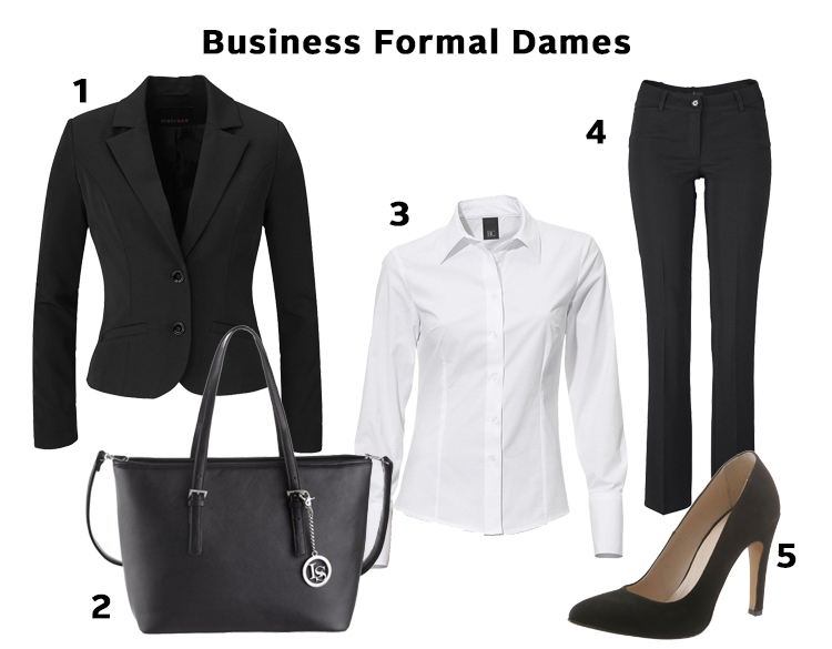 business formal dames