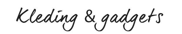 Kleding&gagdets titel