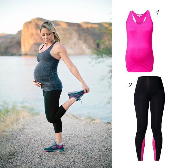 zwangerschapmode sporty