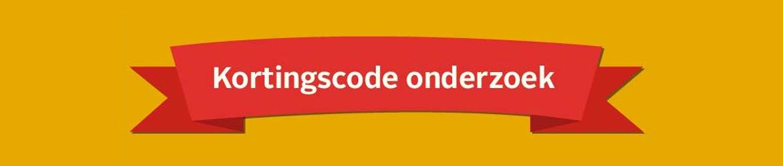 Kortinscode onderzoek banner