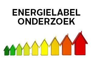 Energielabel onderzoek