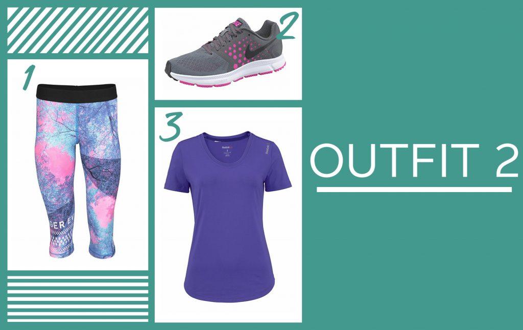 Gekleurde sportkleding