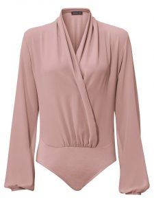 Roze blouse body