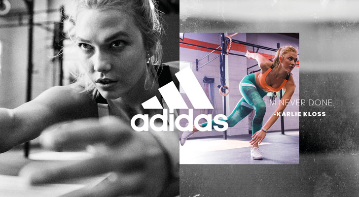 Karlie Kloss adidas motivatie sporten