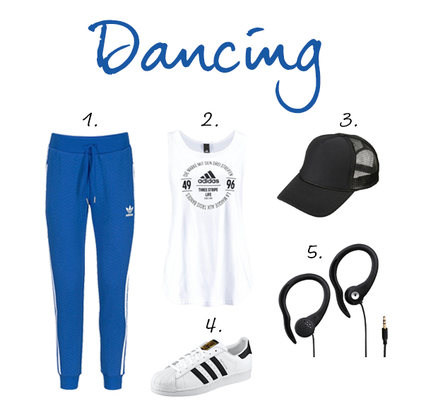 outfit dancing otto sportkleding