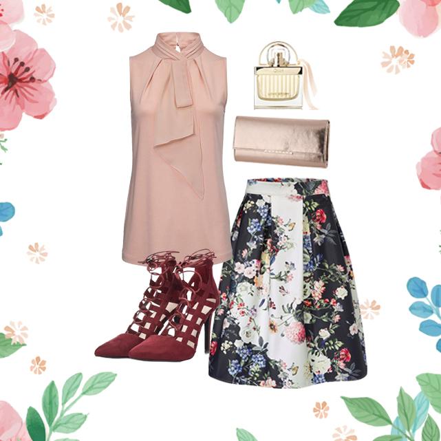 bruiloft outfit roze