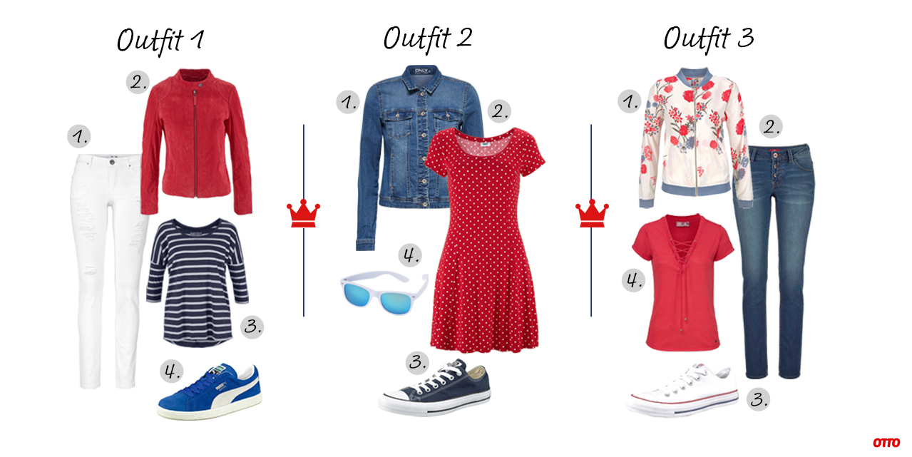 koningsdag outfit rood wit blauw