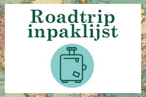 Roadtrip inpaklijst
