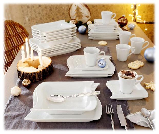 Porseleinen koffieservies van Marchetto. Ideaal voor ontbijt, brunch, lunch en diner!