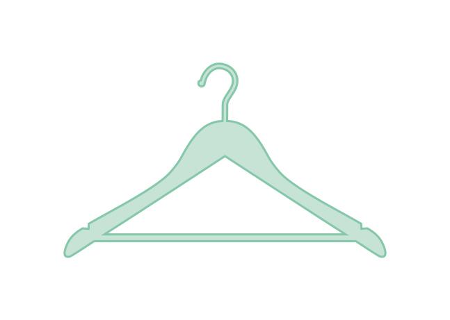 kleerhanger overhemd