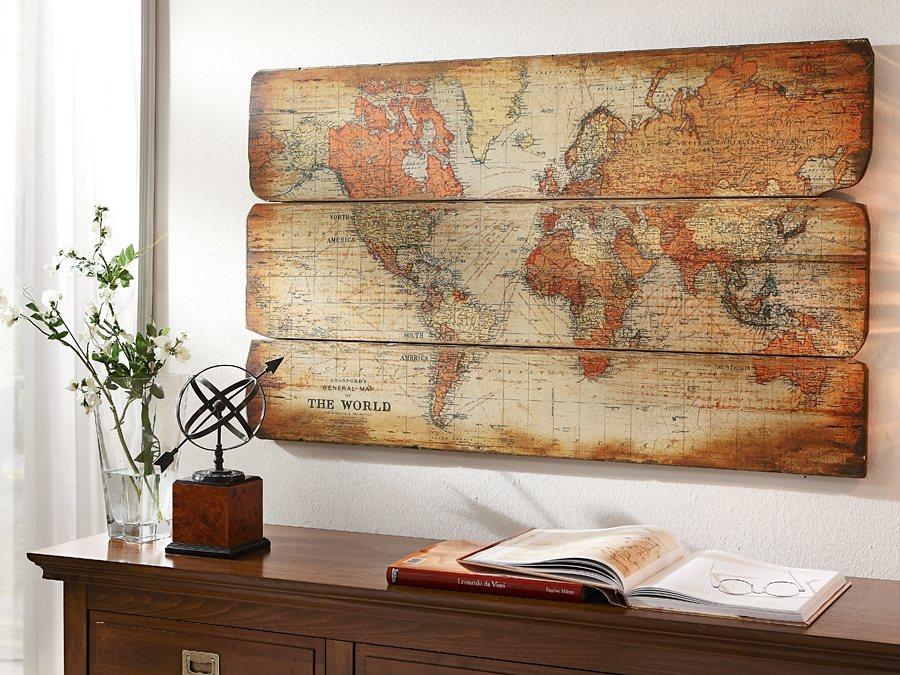 Wereld boven dressoir