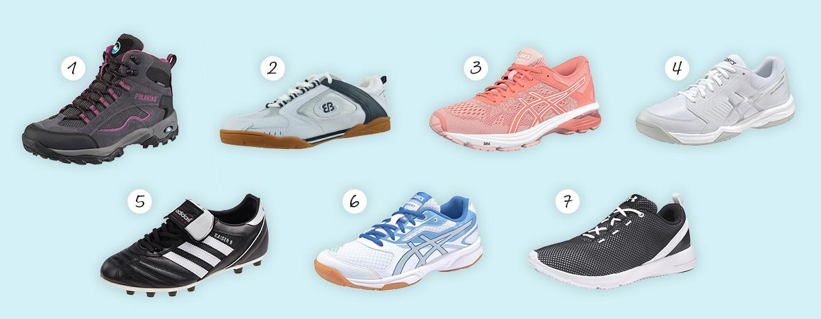 schoenen sporten