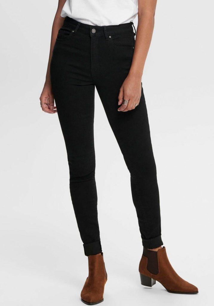 ONLY high waist jeans