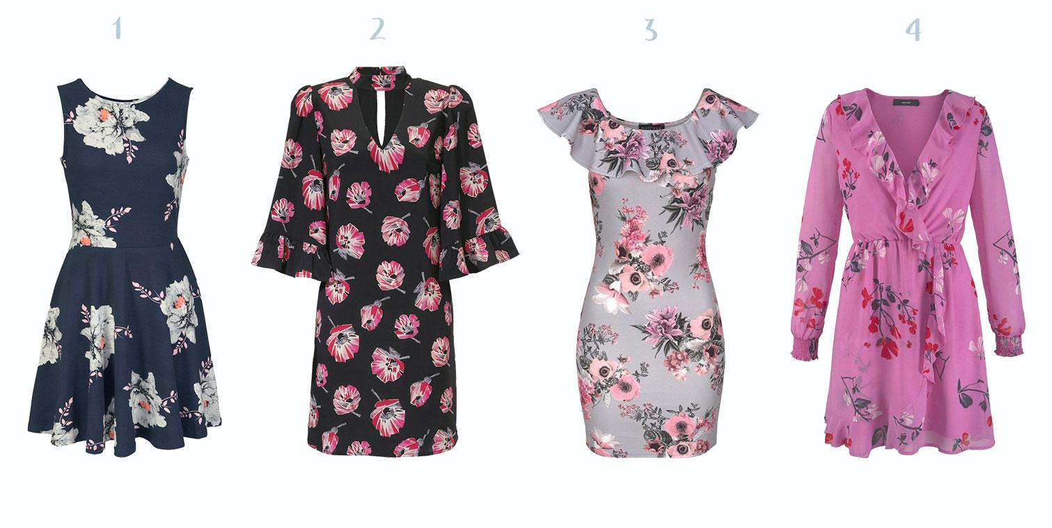 bloemenprint jurken