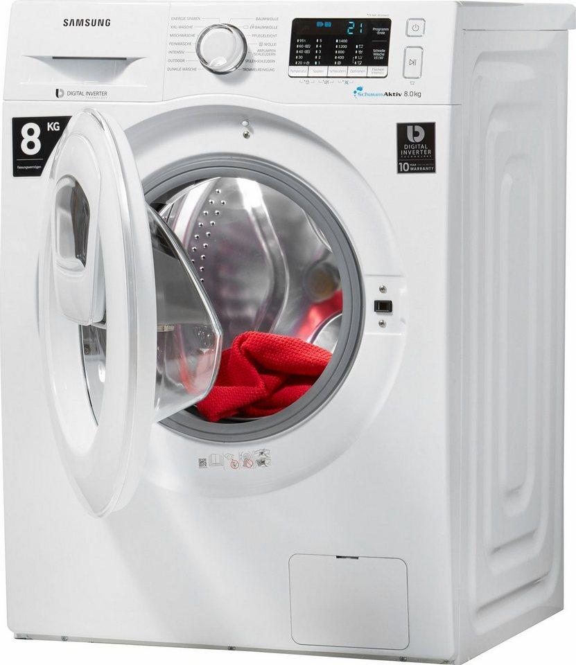 wasmachine reinigen