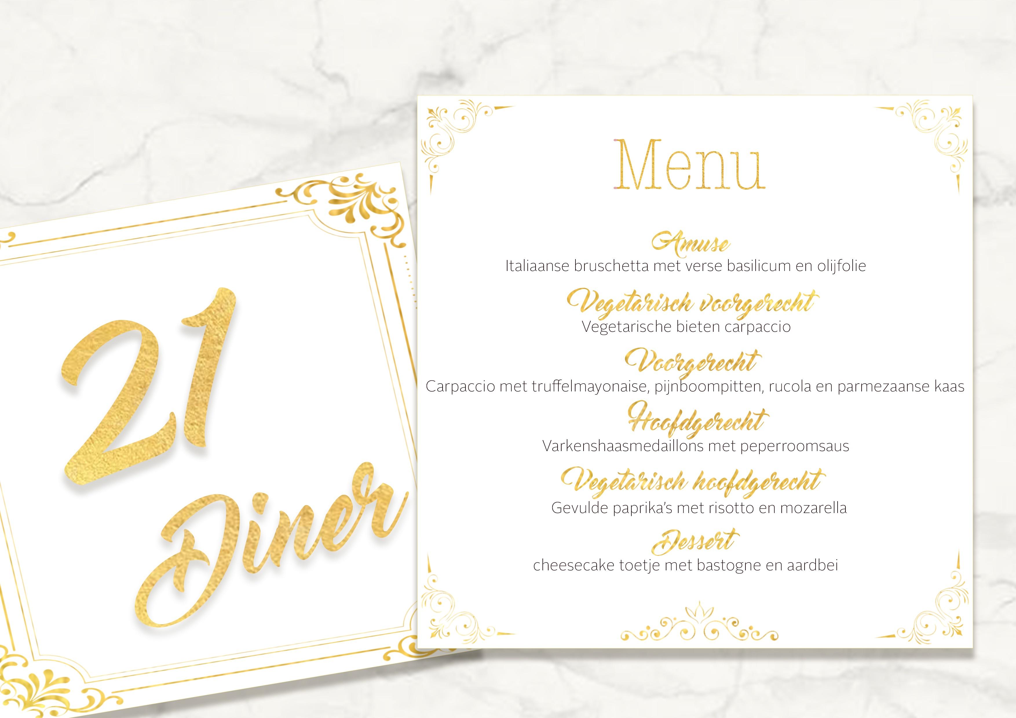 Nieuw 21 diner organiseren: Lees hier alle regels en tips! | EDITED by OTTO VS-72