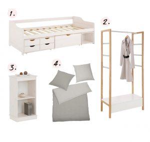 Slaapkamermeubels van duurzaam hout