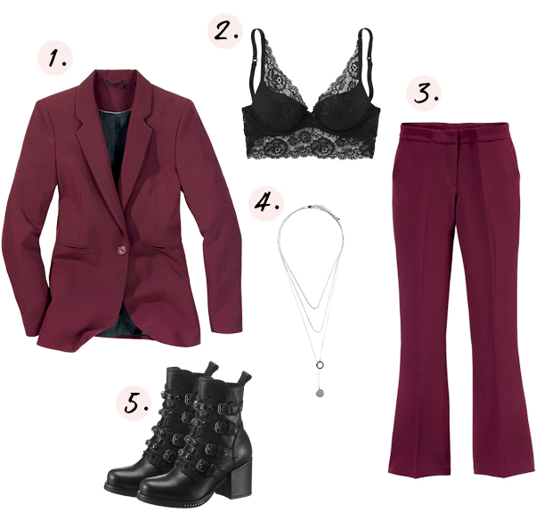 Edgy & rock rode outfit