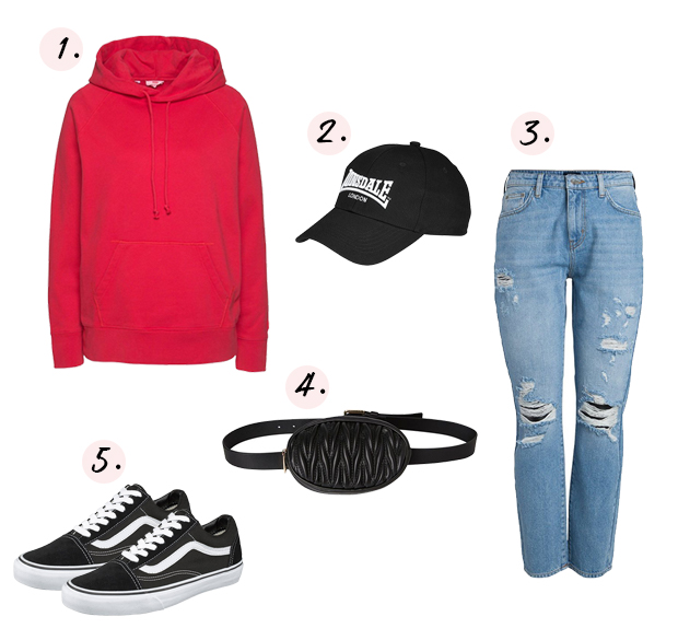 Urban rode outfit