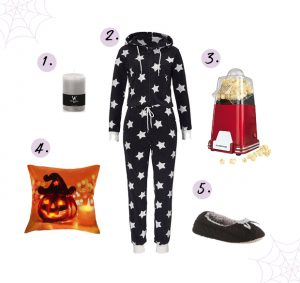 Halloween movie night outfit