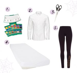 Halloween trick or treat outfit