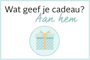 Wat geef je cadeau aan hem?