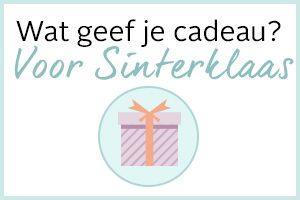 Wat geef je cadeau voor Sinterklaas