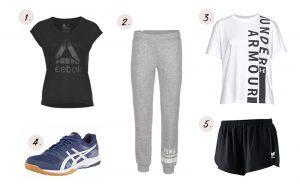 Zaalsport outfit