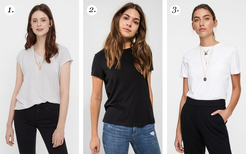 Fashion basic: basic tee voor iedere outfit