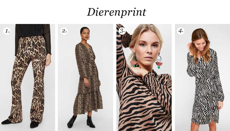 Dierenprint kledingstukken voor budget carnavalsoutfits