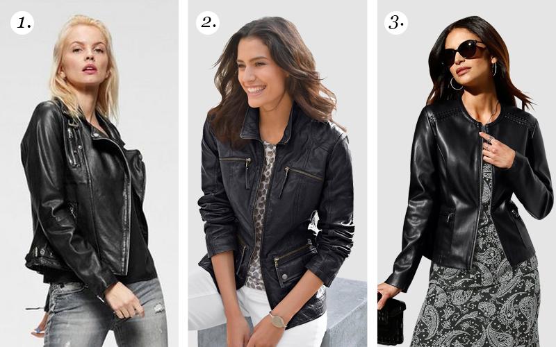 Fashion basic: leren jasje voor iedere outfit