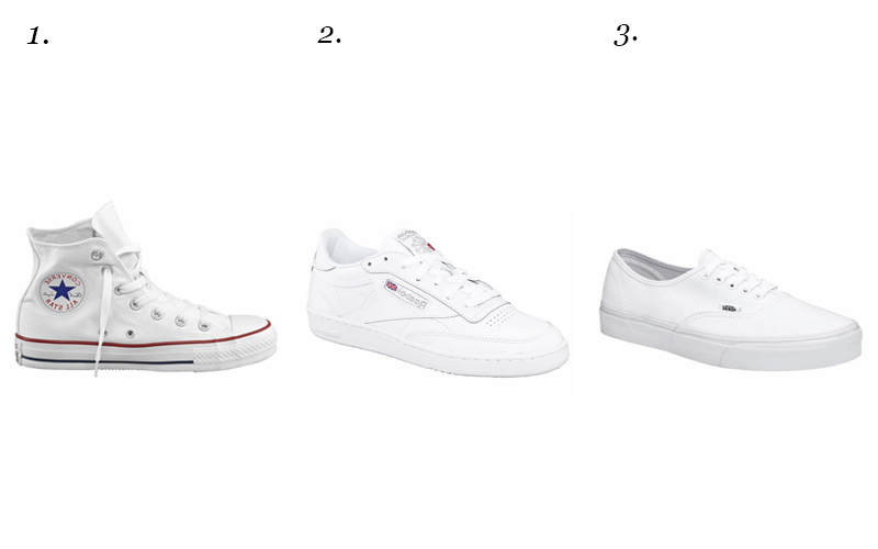 Fashion basic: witte sneaker voor iedere outfit