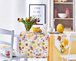 Tafeldecoratie voor Pasen