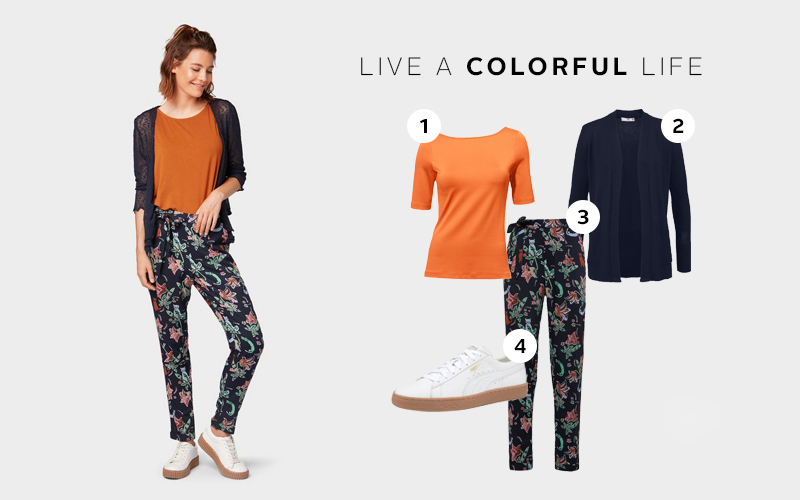 Outfit inspiratie: prints combineren in everyday look