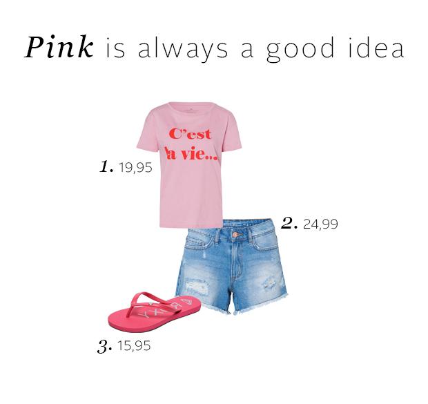 Zomer outfit inspiratie: kleurrijke items