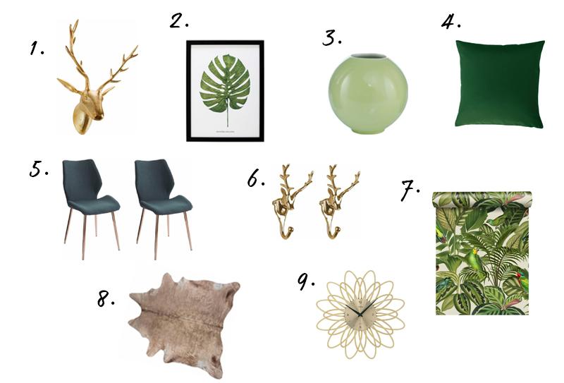 Botanisch interieur must-haves