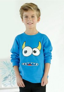 Blauw sweatshirt jongens