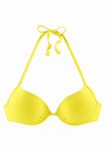 Gele bikinitop