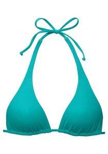 Aqua blauwe bikinitop