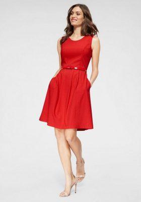 Kleuren voor een brunette: rood