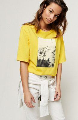 Kleuren voor een brunette: geel