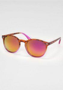 Zonnebril oranje/roze