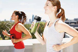 Gezonde start, hardlopen en smoothies